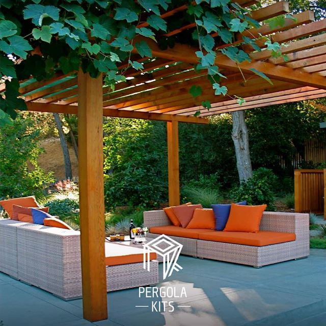Summer Calls for Outdoor Spaces. SomeInspiration PergolaKitsLebanon....