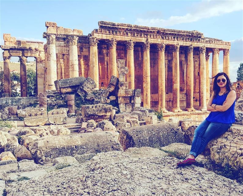 baalbeck romans romansruins lebanon lebanonforall architecture zahle... (Baalbek, Lebanon)