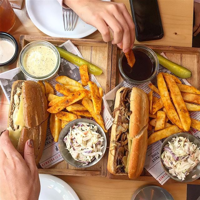 Hungry! Are you @brisketsfrenchdip :::::::::::: amazingfood sandwiches ... (Brisket's French Dip Sandwiches)