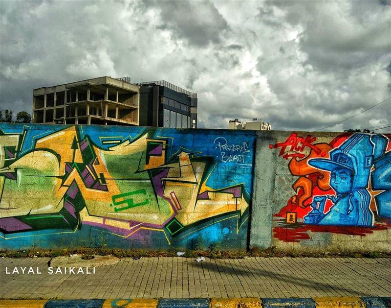 ``ᴀʀᴛ ɪs ᴇᴠᴇʀʏᴡʜᴇʀᴇ`` •••• lebanon graffiti proudlylebanese amazing... (Beirut, Dekwaneh)