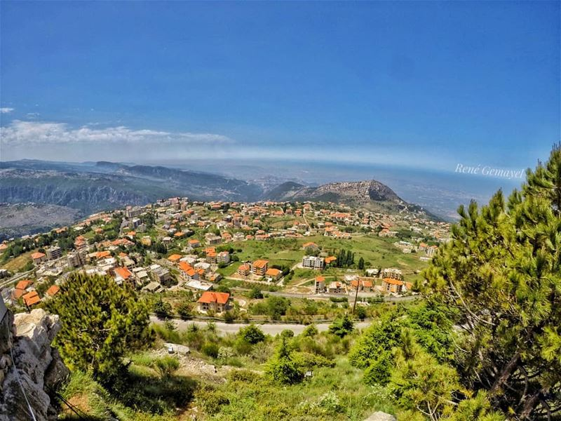 Each morning we are born again, what we do today is what matters the most... (Ehden, Lebanon)