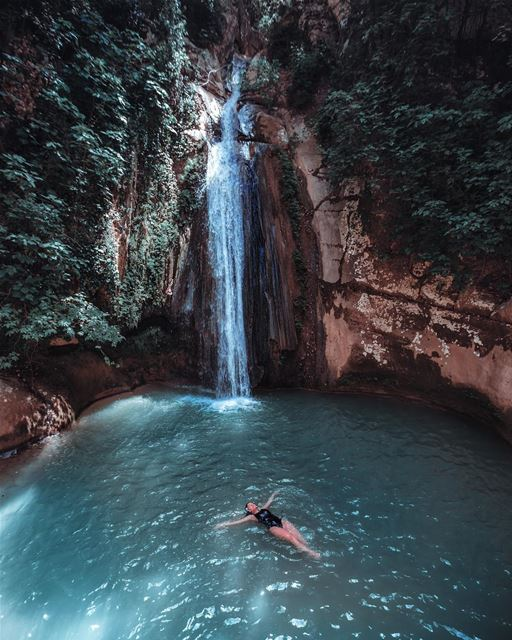 i'll just be lying here... forever-Sorry - i'm not over these waterfall... (Lebanon)