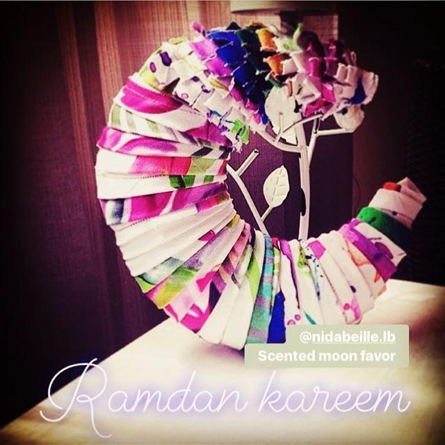 Ramadan Kareem 🌙Write it on fabric by nid d'abeille ramadan kareem ...