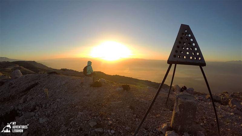 Sunrise 😍 Because sunsets are too mainstream 😜 myadventureslebanon ...