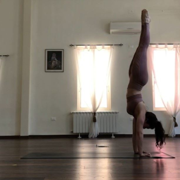 This is how I like to incorporate handstands into my vinyasa practice and... (Sarvam Yoga)