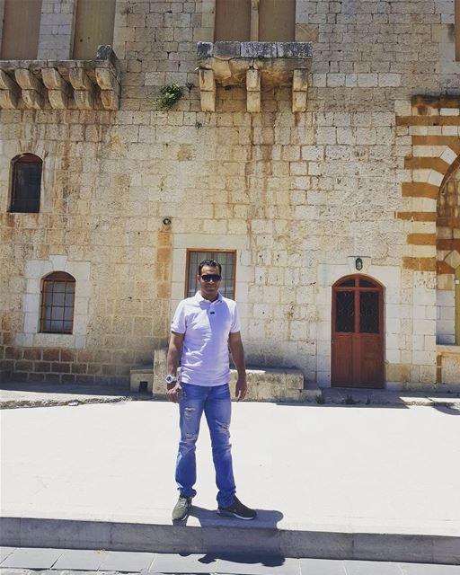 Назад к 18 век. архитектура ливан старый_дворец историястраны lebanon... (El Mtaïn, Mont-Liban, Lebanon)