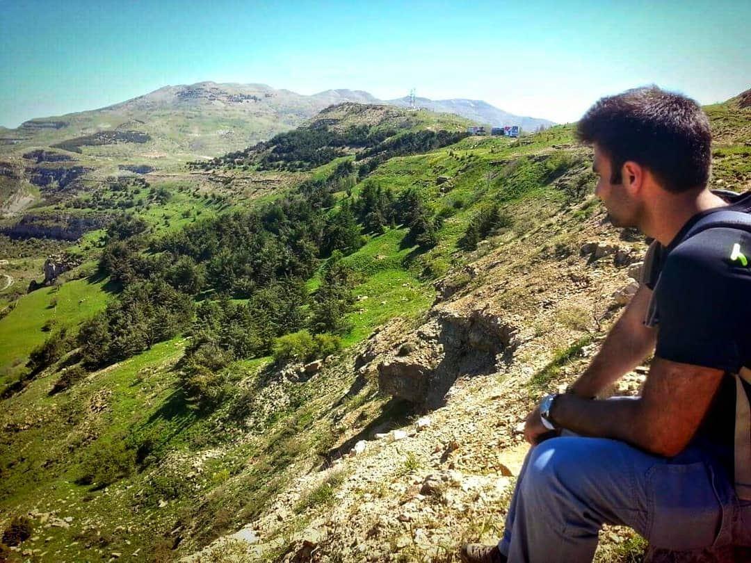 Never stop wondering; never stop wandering 🌲..... hikingadventures ... (Dahr ech Chîr)