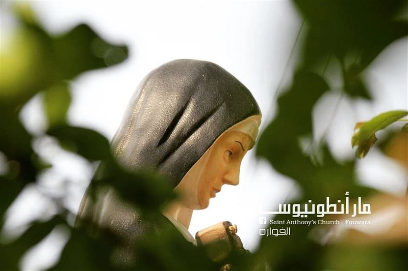 Have a blessedday with saintrita @saint.anthony.fouwara lebanon saint...