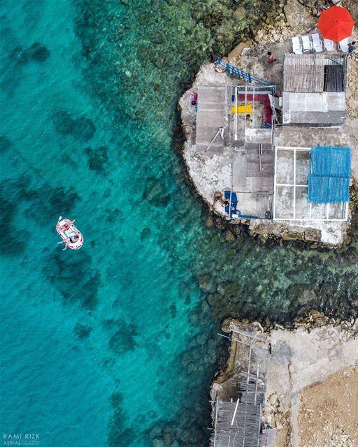 Floating Dreams 🏝️... lebanon koura anfeh northlebanon dji ... (Anfeh Al-Koura أنفه الكورة)