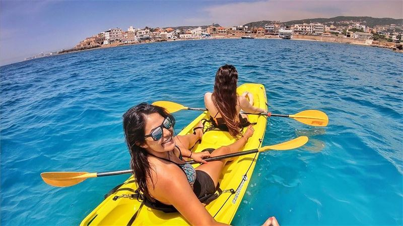 Couldn't ask for more ! vacation summer lebanon batroun kayaking ... (Batroûn)
