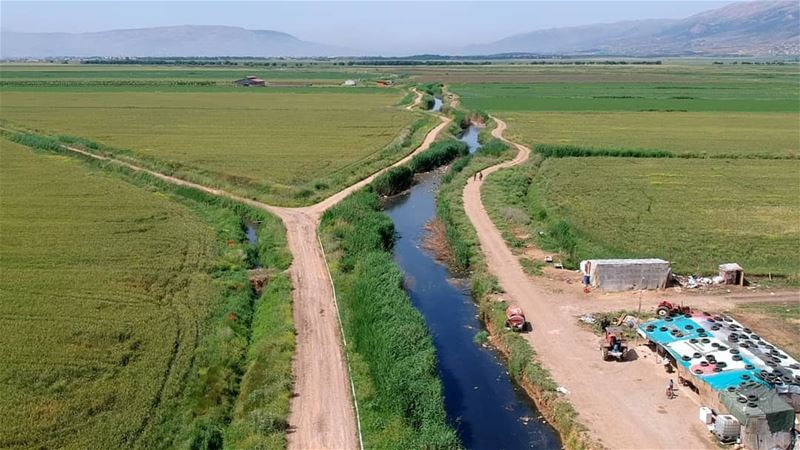 westbekaa bekaavalley bekaa watercanal river greenland greenfield... (West Bekaa)