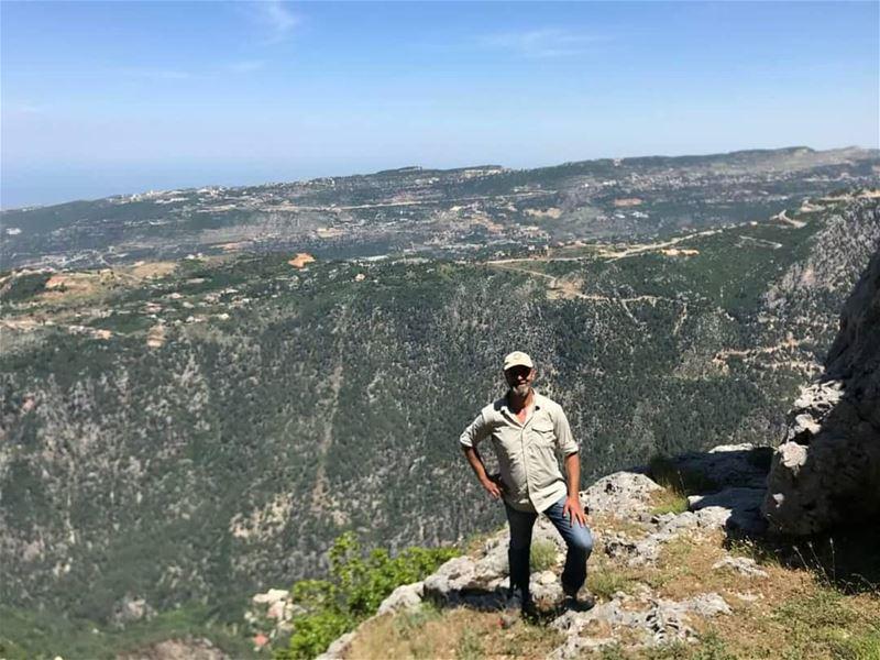 Meet Pierre Keyrouz, JabalMoussa's new devoted guard! unescomab unesco...