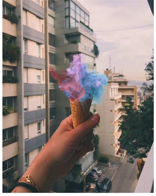 When you're too excited for 🍦 (Beirut, Lebanon)