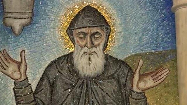 Orgulho para todos os devotos de São Charbel: Foi inaugurado um mosaico... (St. Patrick's Cathedral)