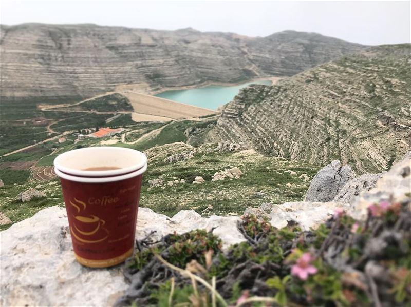 Morning Mood Booster ☕️ ....... lebanon lebanon_hdr ... (Faraya, Mont-Liban, Lebanon)