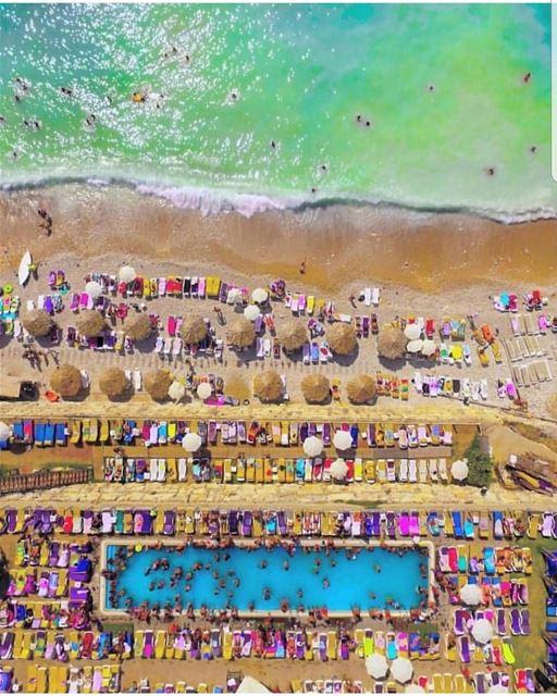 batroun @locobeachresort beach sea mediterraneansea batrounbeach ... (Loco Beach Resort)