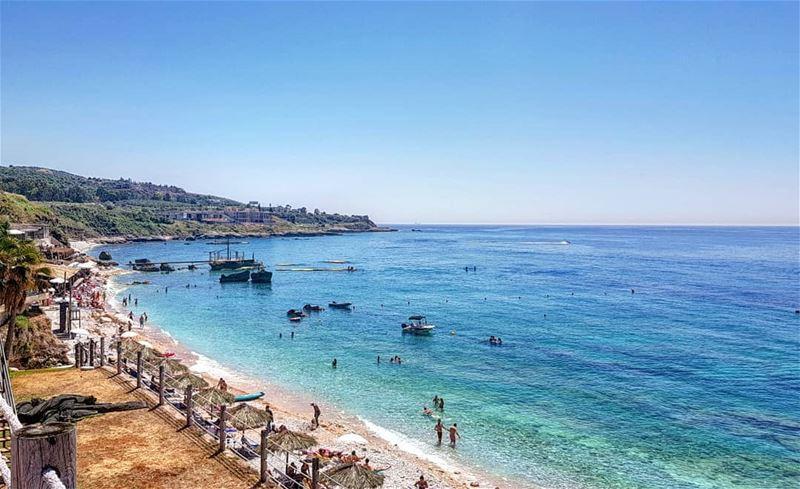 Clear blue sky, clear blue water 🇱🇧 livelovebatroun mycountrylebanon...