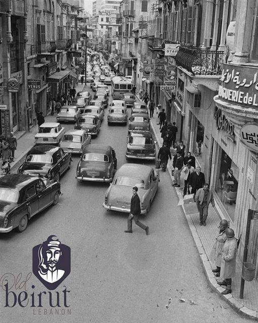 شارع جورج بيكو بيروت عام ١٩٦٩ . Harry Koundakjian ©By @oldbeiruthlebanon (Beirut, Lebanon)