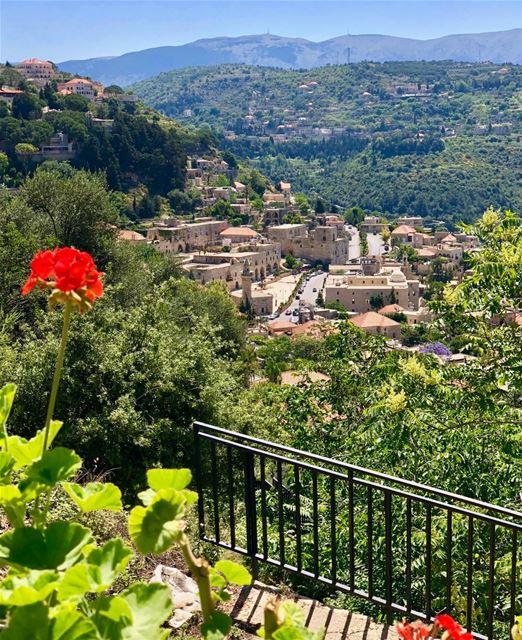 Little town with a glorious past lebanonhistory ottoman frenchmandate ... (Dayr Al Qamar, Mont-Liban, Lebanon)