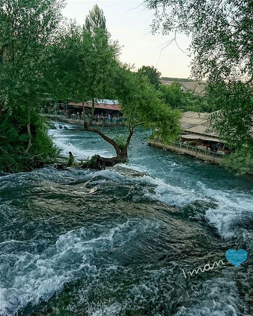 Beautiful view from assiriver by @imantaha77 assi_river hermel ... (El Hermel, Béqaa, Lebanon)