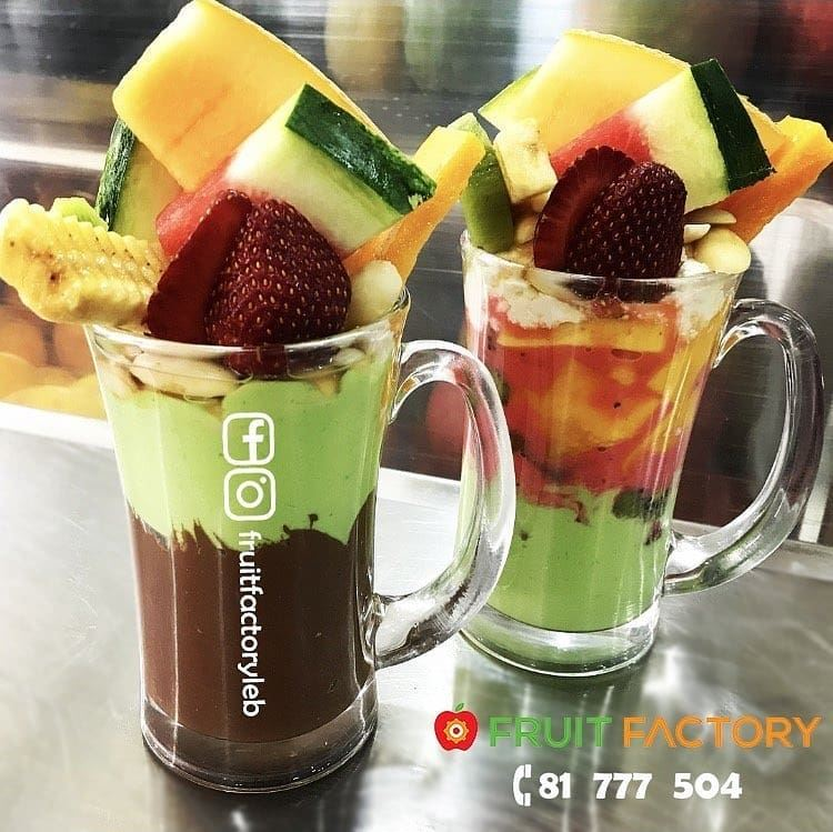 @fruitfactoryleb - Pass by and enjoy some freshness or Order Now 81 777... (Fruit Factory)