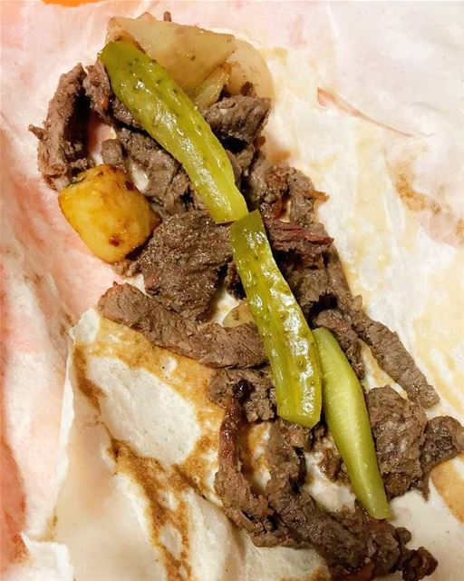 Shawarma 🥩😍✅..What is Shawarma?🙊 .Shawarma is made from marinated... (Montreal, Quebec)