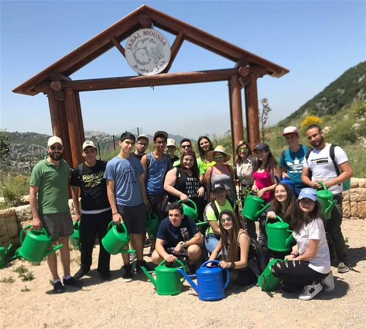 Ready for a planting activity at the Qehmez reserve entrance? Call us at...