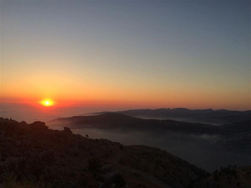 Sunsets‼️‼️................. lebanon nature landscape ... (Bteghrîne, Mont-Liban, Lebanon)
