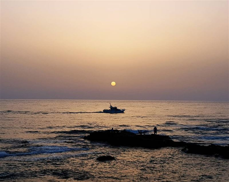 tyre sour lebanon love sun sunset like4like likeforlike nature ... (Tyre, Lebanon)