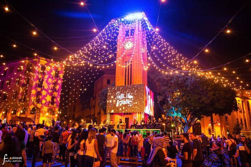 Ramadan in Beirut photo fadiaounphotography beirut lightings night ...