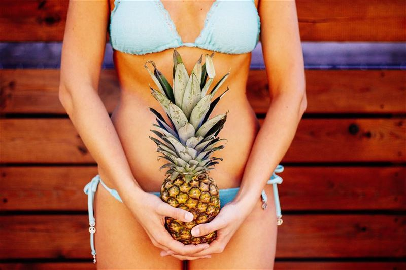 What is it with you and pineapples he asks. Tough on the outside, but... (Somewhere under the Blue Sky)