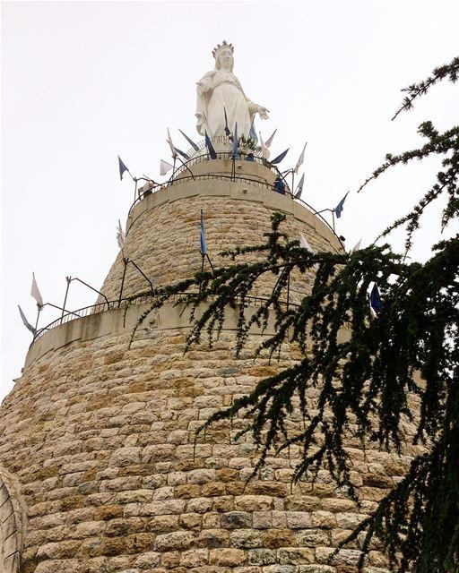 harissa notredameduliban ourladyoflebanon jounieh ... (Notre-Dame du Liban)