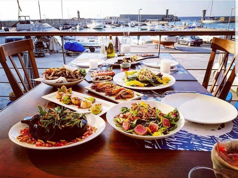 batroun restaurants bistreau foodinlebanon foodlover sea ... (Bistr'eau)