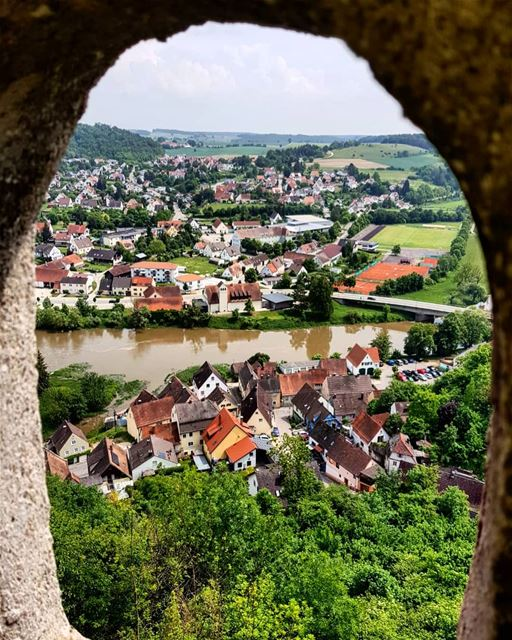 Wish you a wonderful Sunday as beautiful as this view view viewfromthetop... (Harburg, Bayern, Germany)