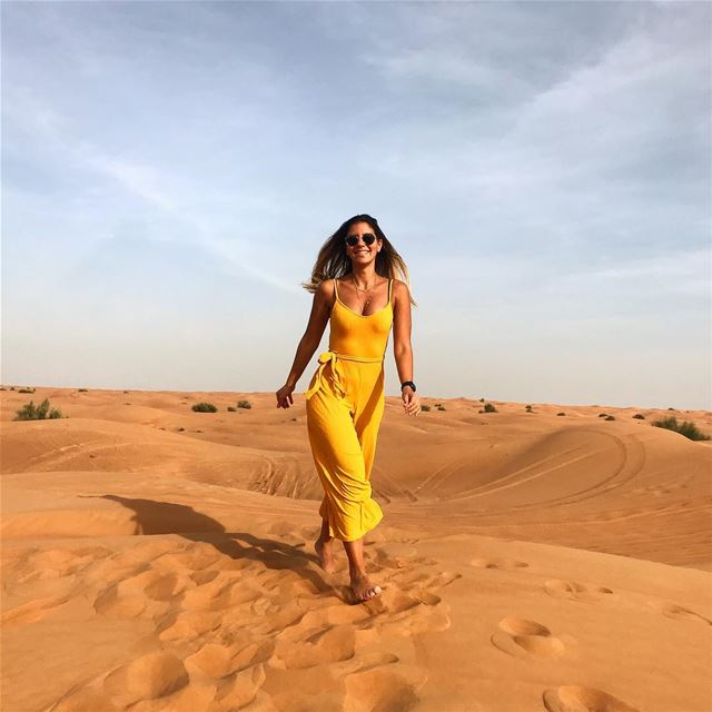 I come with a  temper as  sweet as a  desertstorm 🌵☀️🌵🌵🌵🌵🌵🌵... (Dubai Desert)