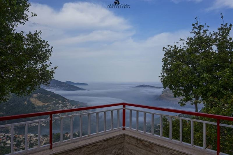 Morning from my balcony • • • chouf shoufreserve lebanon beirut ... (Balcony View)