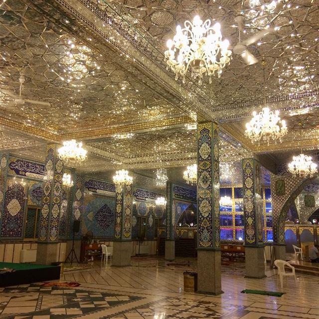 بعلبك baalbeck rasbaalback mosque shrine imamhussain ... (بعلبك مرقد السيدة خولة بنت الحسين .عليه السلام.)
