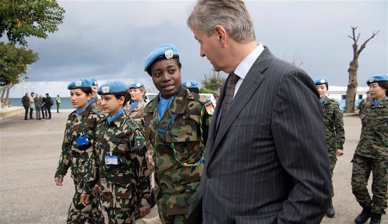 @UNIFIL_:  Women  peacekeepers play an increasingly prominent role & are...