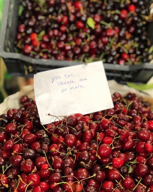 cherries lebansestreetstyle insta_lebanon summer fruitlovers favpic ...