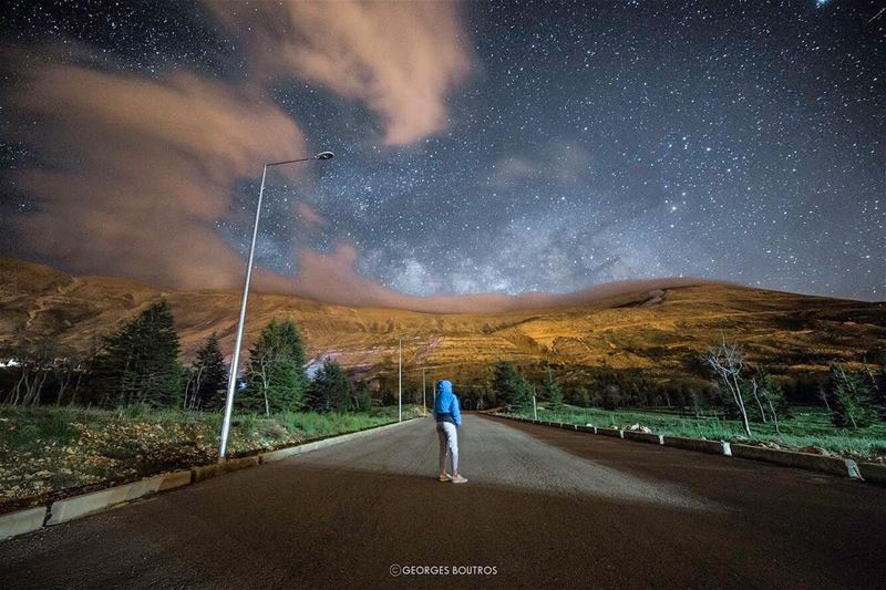 You can't hide from me!- milkyway lebanon milkywaygalaxy ... (Cedars of God)