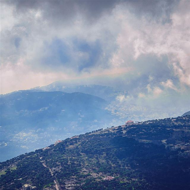 'over the hills and far away...' (Mount Lebanon Governorate)