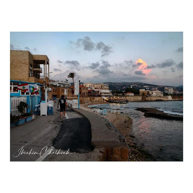 All about a sunset - ichalhoub in Batroun north Lebanon shooting with a...
