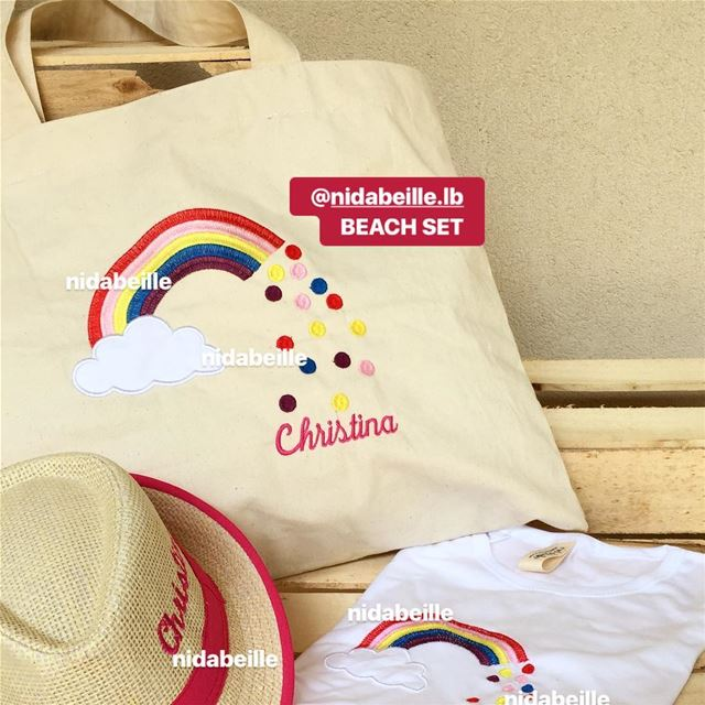Girls just wana have some SUN ☀️ Beach set towel, cushion, bag, hat,...