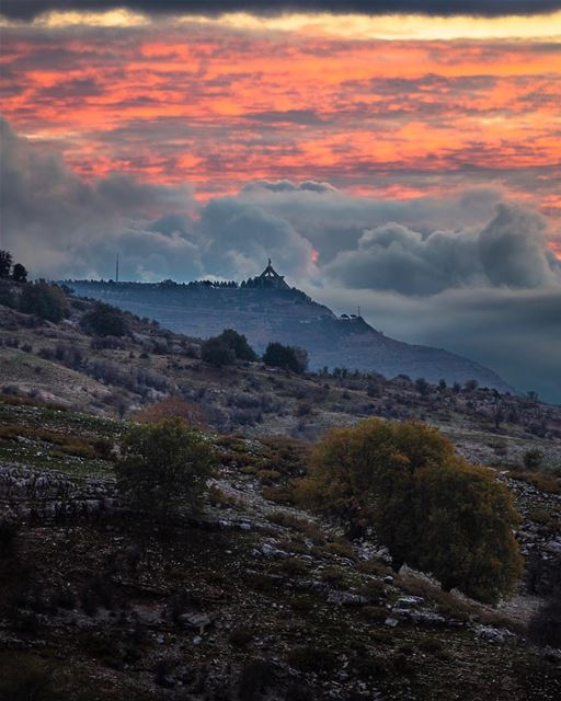🇱🇧 Between what is said and not meant, and what is meant and not said,... (Bchennâta, Liban-Nord, Lebanon)