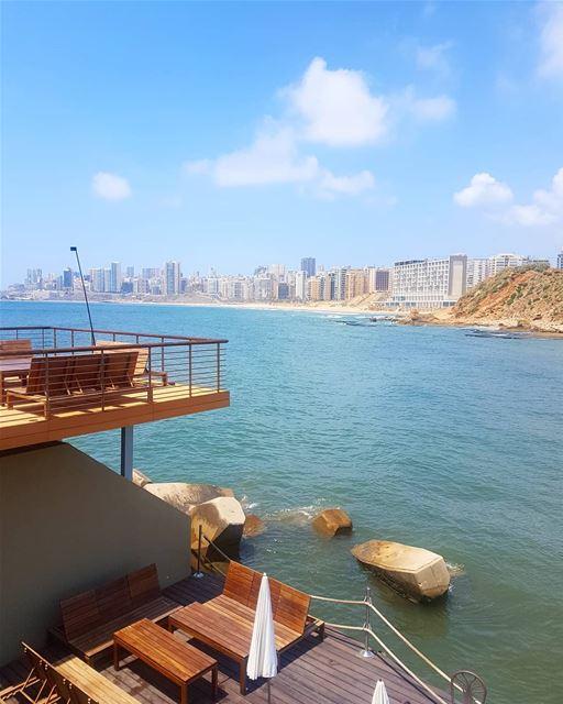 شايف البحر شو كبيرايانا ما شايفة ig_lebanon instaamici instabeirut ... (Kempinski Summerland Hotel & Resort Beirut)