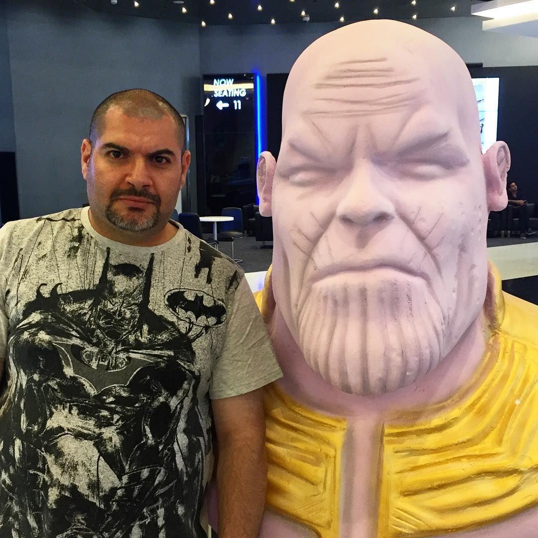 me myself abouja2ra avengers justice league Batman Thanos power ...