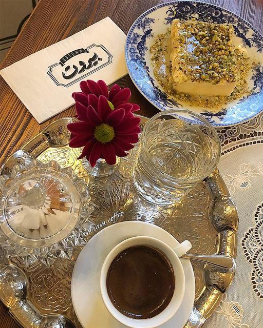 اشرب قهوتك مرة و عيش سعيدا بحلوها و مرها.... ramramcoffee ...