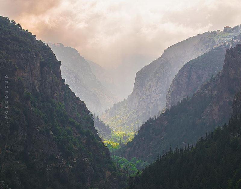 The Holy Valley • Lebanon 🇱🇧..... beautifullebanon ... (Ouâdi Qannoûbîne, Liban-Nord, Lebanon)