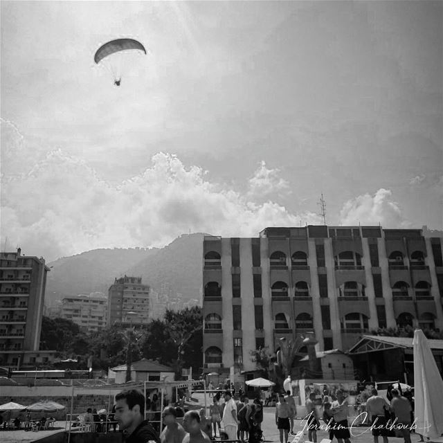 Fly - ichalhoub in jounieh Lebanon shooting with a mobile phone ...