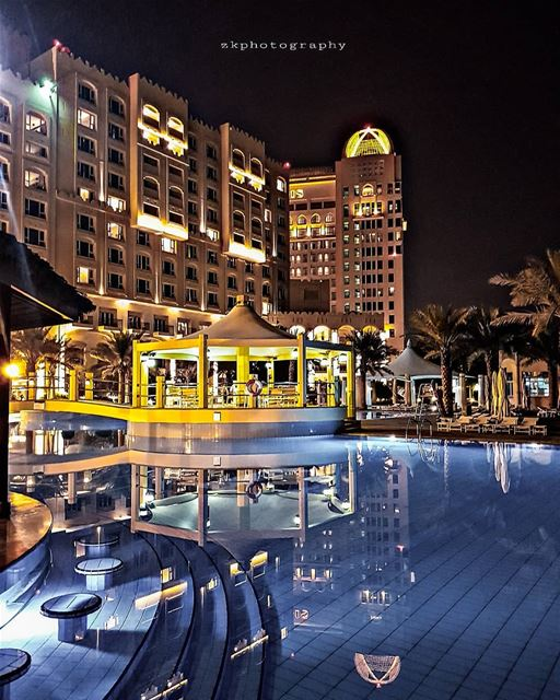 Reflections 🌟🌟🌟🌟🌟 * amazing_qatar qatarism clubhdrpro ... (InterContinental Doha Hotel & Residences)